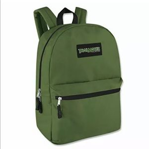 """Trailmaker Olive Green 17"""" backpack"""